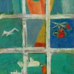 Вид из окна на море б.см.тех. 55х40 2006