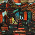 Кубанский пейзаж х.м. 80х100 1989-1997 гг
